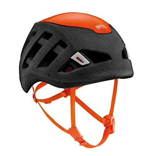 PETZL Sirocco Helm, Schwarz/Orange, M/L
