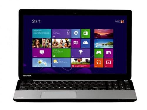 Toshiba Satellite L50-A-1FM 39,6 cm (15,6 Zoll) Laptop (Intel Core i7 4700MQ, 2,4GHz, 4GB RAM, 500GB HDD, Intel HD 4000, DVD, Win 8.1) silber