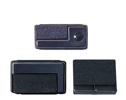 Reiner B6/8K vervangende inkt pads voor stempel - zwart (Pack van 2)