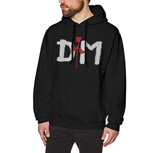 MYHL Men's Depeche Mode Graphic Fashion Sport Hip Hop Hoodie Sweatshirt Pullover Tops