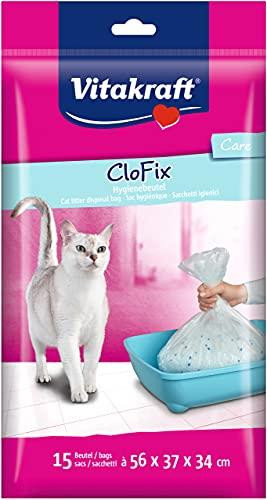 Vitakraft Clo Fix - Set di 15 lettiere per gatti