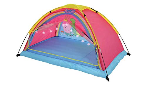 MV Sports Peppa Pig Dream Den Play Tent With Lights Indoor Outdoor Play For 3 Years +