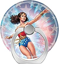 Smart Phone Stand Ring Holder Universal 360 Degree Rotating Finger Grip Kickstand for All Cell Phones Tablets-Wonder Woman Ultimate Protection