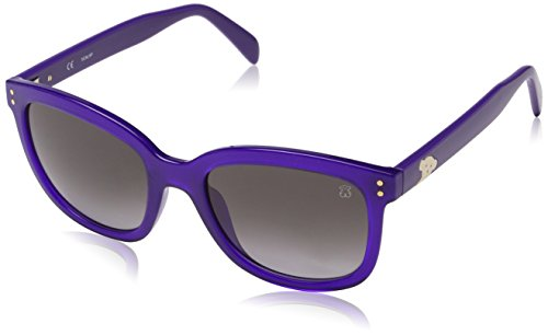 TOUS STO831-530916 Gafas de sol, Shiny Purple, 53 para Mujer