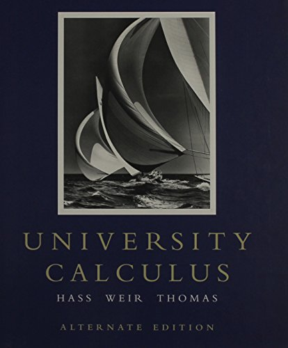 Download University Calculus: Alternate Edition with MathXL (12-month access) 0321518888