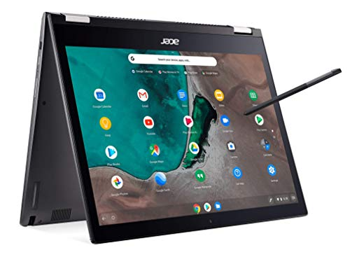 Acer Chromebook Spin 13 CP713-1WN-53NF 2-in-1 Convertible, 8th Gen Intel Core i5-8250U, 13.5' 2K Resolution Touchscreen, 8GB LPDDR3, 128GB eMMC, Backlit Keyboard, Aluminum Chassis,Steel Gray