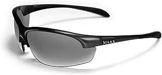 Maxx Sunglasses Domain Black Frame Polarized Smoke Lenses