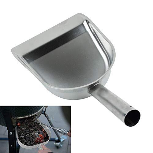 Edelstahl-Reinigungs-Schaufel, Kohlen-Schaufel-Minikehrschaufel-Kamin-Staub-Aschen-Wannen-Spaten mit Griff für Countertop-Tabellen-Haus