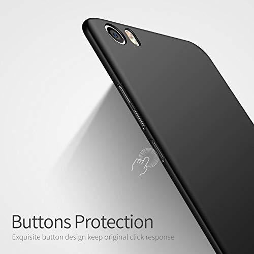 YYMMQQ Custodia per Cellulare Custodie rigide per Telefono MSVII per Xiaomi Mi 5 Custodia per Xiaomi Mi5 5X Mi A1 Cover Custodia Ultra-Sottile Opaca per Xiaomi Mi6 Coque Anti-Knock-per Xiaomi Mi A