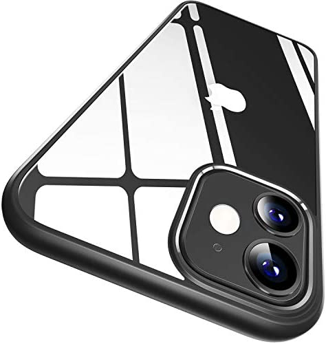CASEKOO Crystal Clear Compatible with iPhone 12 Case Designed for 12 Pro Case Never Yellow Military product image