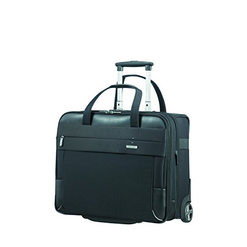 SAMSONITE Rolling Tote 17.3' EXP (Black) -SPECTROLITE 2.0  Travel Tote, 0 cm, Black
