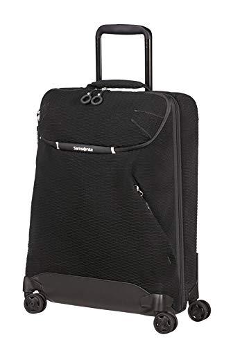 Samsonite Neoknit - Travel Duffle with 4 Wheels S, 55 cm, 36.5 Litre, Black (Black/White)