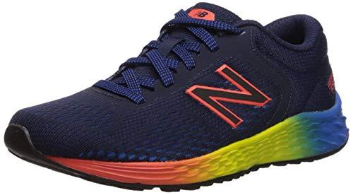 New Balance Kid's Fresh Foam Arishi V2 Running Shoe, PIGMENT/MULTI/BLUE, 10.5 W US Little Kid
