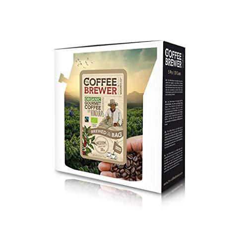 Coffeebrewer | Kaffee-Geschenk-set, 5er-Sortiment | die Reise-kaffee Box | Perfektes geschenk für den Kaffeeliebhaber | Handgeröstete Premium-Kaffeespezialitäten aus 5 verschiedenen Kaffeefarmen