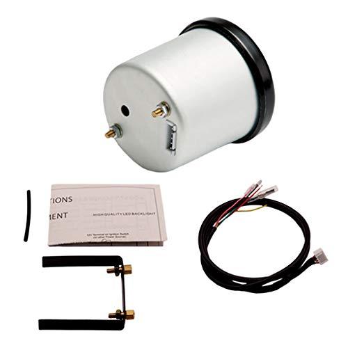 perfk Luft Kraftstoffverhältnis 52 mm AFR Messgerät Kommt mit der Installationsanleitung.