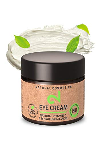 DUAL Eye Cream | Crema Para Ojos Natural y Vegana |Vitamina