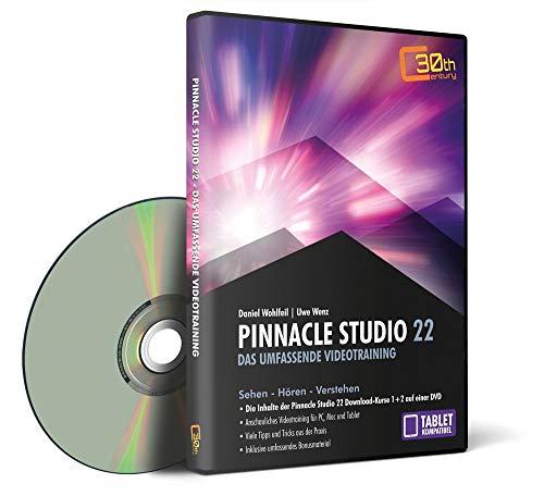 Pinnacle Studio 22 – das umfassende Videotraining für PC und Tablet (auch für Version 23 geeignet!)