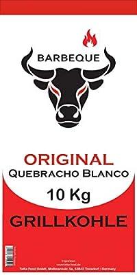 Quebracho Blanco Premium Grillkohle (Holzkohle) - 10 Kg (Paraguay - TOP)