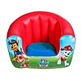 PAW PATROL-La Patrulla Canina-Sillón Hinchable Infantil, Color Blue/Red (Worlds Apart 282PPW)