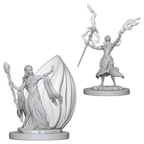 D&d Nolzur's Marvelous Miniatures - Elf Female Wizard