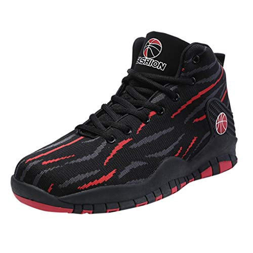 Bluestercool Chaussures de Basket Running Sport Compétition Trail entraînement Homme Basket Sneakers Running Sports Fitness Shoes