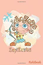 Sagittarius Notebook: The Archer - November 22-December 21 - Lined 6 x 9-inch size with 120 pages
