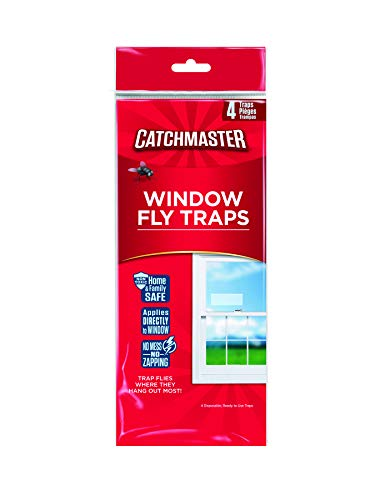 Catchmaster Bug amp Fly Clear Window Fly Traps  Pack of 12 Traps