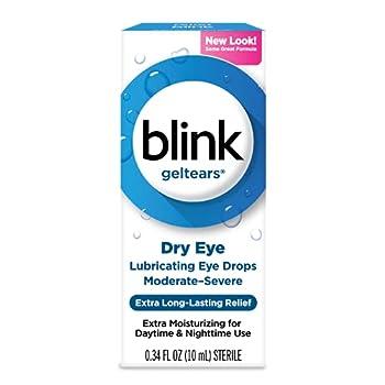 Blink Tears Lubricating Eye Drops Mild-Moderate Dry Eye - 0.5 oz Pack of 3