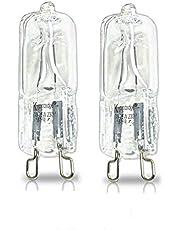 Halogeen ovenlamp G9 Oven lamp 40W hittebestendige halogeen gloeilampen, warm wit - 2600k, tot 500 graden (2 stuks)