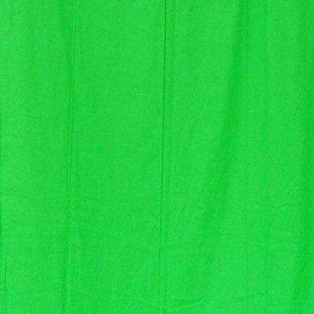 StudioFX 10x20 Chromakey Green Muslin Backdrop 100% Cotton Machine Washable Photography Photo Video Green Screen