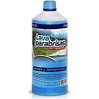 Sisbrill Lavaparabrisas Conc. 1:20 con Repelente Lluvia - Elimina Polvo e Insectos - Sin Chirridos - 1 Litro