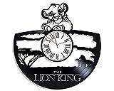HCPGZ l'horloge Vinyle Disney Catoon Vintage Vinyle Ecod Horloge Nouveaux Cadeaux Fo Boys Gils l'horloge Murale À La Main pour Nusey Horloge Originale pour Enfants