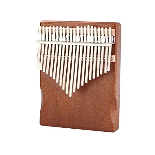 SYXMSM 21 Schlüssel Kalimba Mahagoni Daumen Finger Piano Kalimba Daumenklavier Kalimba Instrument (Color : 21 Keys Coffee)