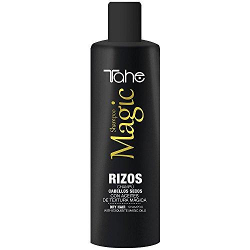 Tahe Magic Rizos Champú para Rizos/Champú para Cabellos Secos, Efecto Hidratante Anti-encrespamiento, 300 ml