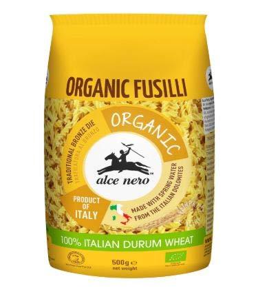 NT# Alce Nero Organic Durum Wheat - Fusilli Pasta Cheap super specialty shop special price 500g Ner -Alce