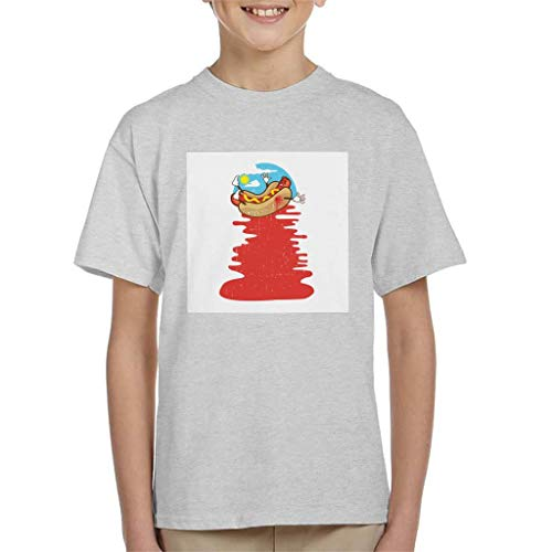 Cloud City 7 Hot Dog Murder T-shirt voor kinderen