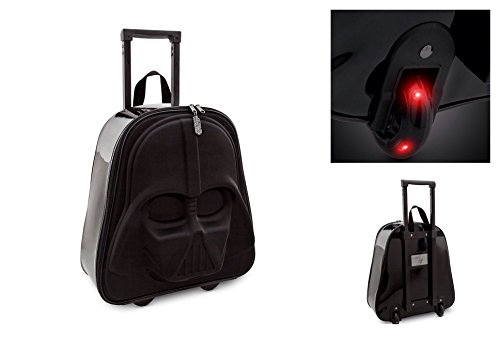 Disney Darth Vader Rolling Luggage - Star Wars
