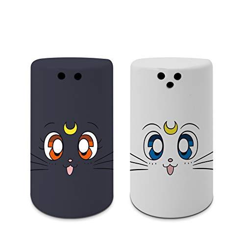 ABYstyle - Sailor Moon - Salero & Pimentero - Luna & Artemis