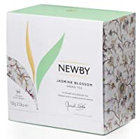 Newby London - Classic Collection Jasmine Blossom - 50 envelopped tea bags * ニュービーロンドン-クラシックコレクションジャスミンブロッサム-50個の封筒入りティーバッグ【並行輸入品】