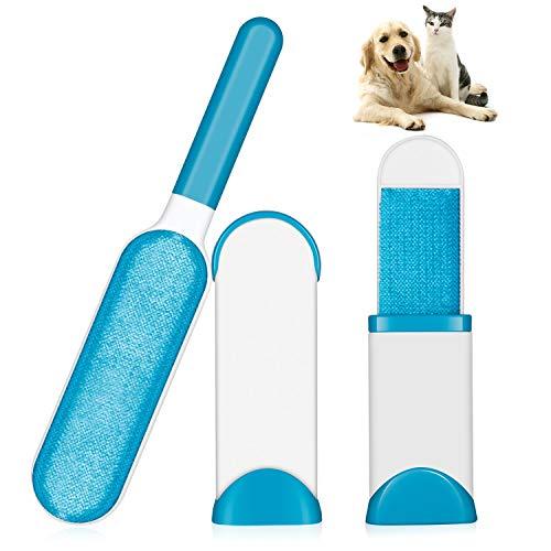 WUKONG99 - Pincel para mascotas, pelo: pelo y pelos y pelos con base autolimpiante para eliminar el pelo de perros y gatos de la ropa