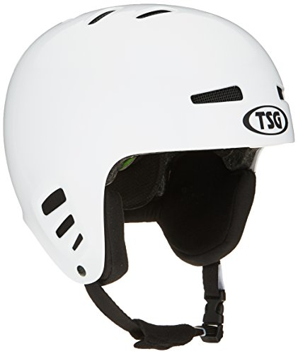 TSG Arctic Dawn Color Helm, Injected White, S/M