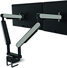 """ZG2 Premium Desk-Mounted Dual Monitor Arm with Three-Dimensional Adjustability Over Desktop – Supports Two Monitors, Each up to 38"""" (24.3 lbs.)"""