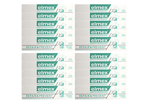 20x elmex SENSITIVE PROFESSIONAL REPAIR & PREVENT Zahnpasta 75ml Zahncreme