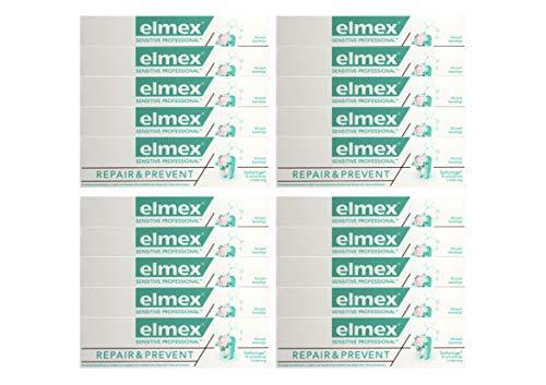20x elmex SENSITIVE PROFESSIONAL REPAIR & PREVENT Zahnpasta 75ml Zahncreme