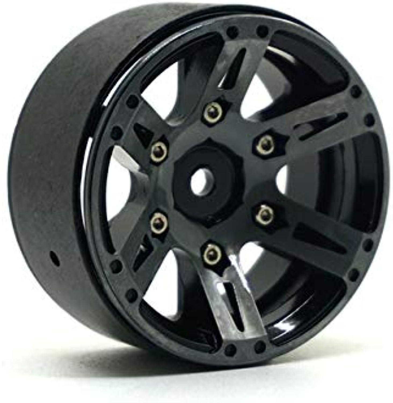 4PCS 1.9 Inch Beadlock Wheel Rims 1 10 Rock Crawler Car Alloy Wheels Hub for RC Crawler Car Traxxas Axial SCX10 CC01 RC4WD   1pc