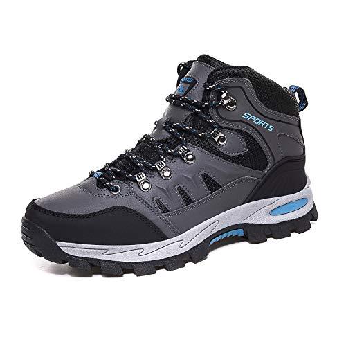 FOGOIN Botas de senderismo para hombre y mujer, botas de trekking, botas...