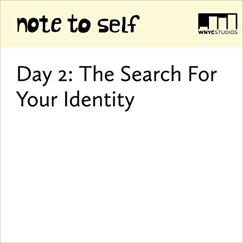 Day 2: The Search for Your Identity audiobook cover art