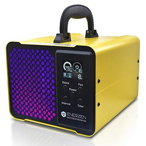 Enerzen O-922D Digital Ozone Generator 12,000mg/h Industrial O3 Air Purifier Deodorizer Sterilizer