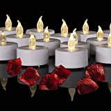Best Flameless Tea Lights - Battery Operated LED Tea Lights: 24PACK Flameless Votive Review