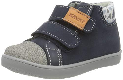 Kavat Unisex-Kinder Berg Hohe Sneaker, Blau (Blue 989), 25 EU